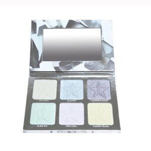 "Jeffree Star ""Platinum Ice"" skin frost palette"